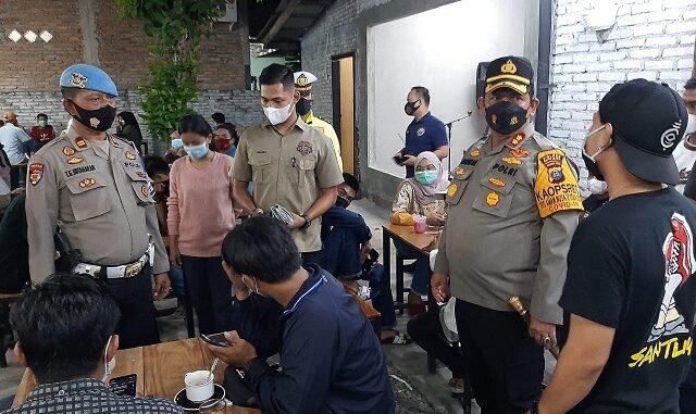 Kapolres Batu Bara AKBP Ikhwan, SH, MH memimpin langsung pelaksanaan Ops Yustisi di wilayah hukum Polres Batu Bara, Sabtu (20/3/2021) malam.