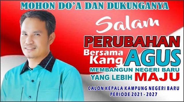Calon Kepala Kampung Kang Agus