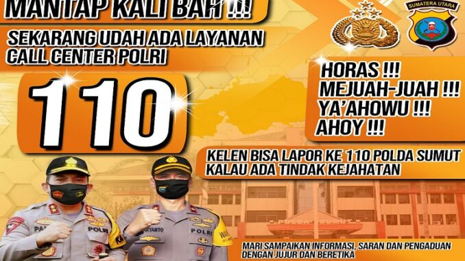 Layanan Call Centre Polisi 110