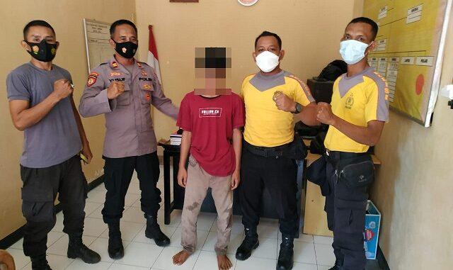 Polsek Utan Polres Sumbawa Polda NTB berhasil mengamankan seorang laki-laki berinisial H alias Hen