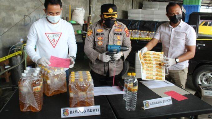 Kapolres Lombok Tengah, AKBP Esty Setyo Nugroho, SIK. Minggu (28/3).