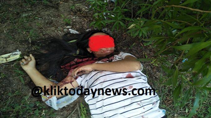 Penemuan mayat wanita yaitu Aliyawati (29) di pantai Pasir Putih Kecamatan Poto Tano pada Selasa (23/3) sekitar pukul 13.45 WITA