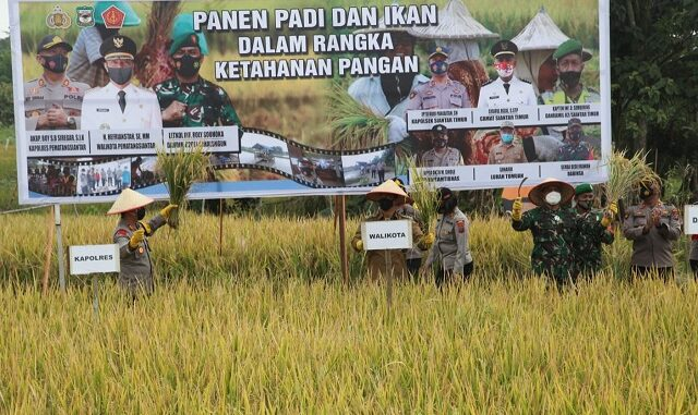 Walikota Siantar Hadiri Peresmian Kampung Paten Sitiur di Kelurahan Tomuan Selasa (2/3/2021).