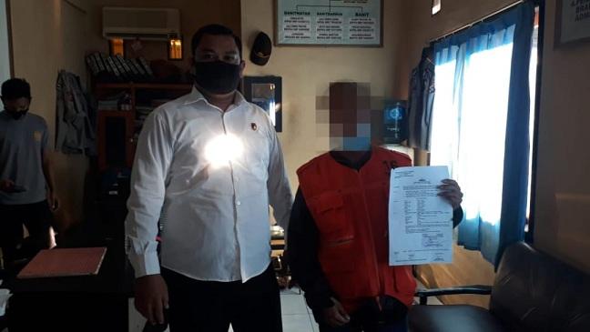 Tim Puma Polres Sumbawa Polda NTB berhasil menangkap satu orang terduga tindak pidana Pencurian dengan pemberatan (Curat), berinisial, Senin (29/03/21) pukul 11.00 wita.