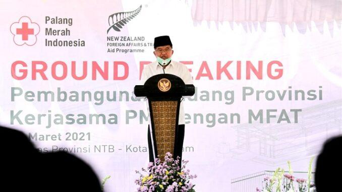 Ketua Umum PMI Jusuf Kalla (JK)