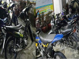 Polres Taput Jaring Puluhan Sepeda Motor Knalpot Blong