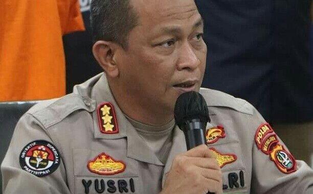 Kabid Humas Polda Metro Jaya KOMBES (Pol) Drs Yusri Yunus.