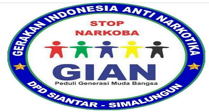 Gerakan Indonesia Anti Narkotika (GIAN) Siantar-Simalungun