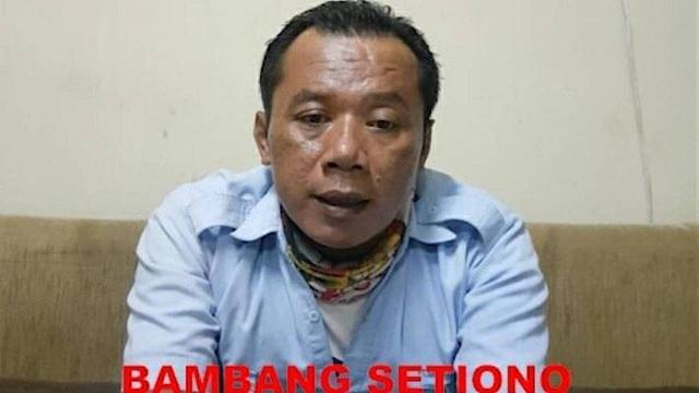 Terduga teroris Bambang Setiono/ist