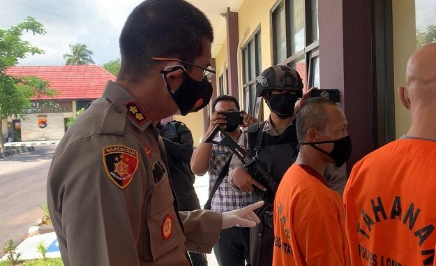 Satuan Reserse Kriminal (Satreskrim) Polres Lombok Utara (Lotara) Polda NTB telah mengamankan pria berinisial RH (41)