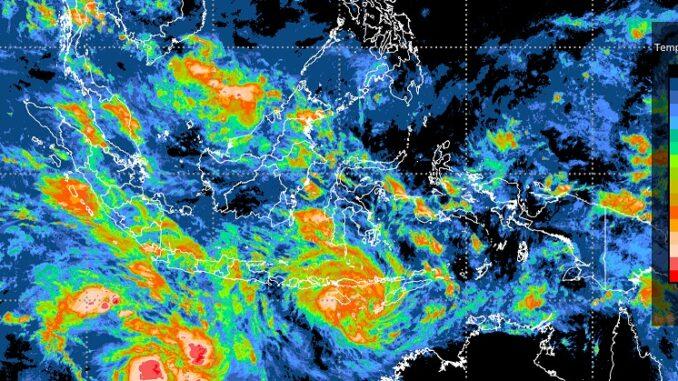 oto : BMKG telah merilis adanya dua bibit siklon tropis yang dapat berdampak pada cuaca ekstrem. Salah satunya potensi curah hujan lebat dan angin kencang di wilayah Nusa Tenggara Timur (NTT) pada sepekan ini, 3 – 9 April 2021. Hingga hari ini, Senin (5/4) (BMKG)