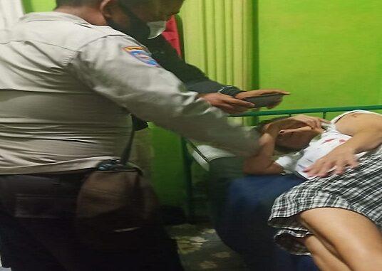 Korban di bawa ke RSUD Djasamen Saragih