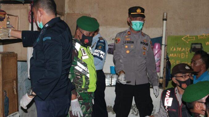 Razia gabungan Lapas Kelas II A Pematangsiantar bersama TNI Polri dan BNN dalam rangka memperingati Hari Bakhti Kemasyarakatan ke 57.