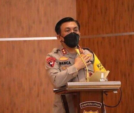 KAPOLDA Sumut, IRJEN (Pol) Drs RZ Panca Putra Simanjuntak MSi