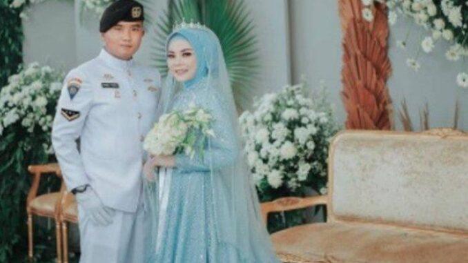 Pernikahan Pandu Yudha, kru kapal selam KRI Nanggala 402 (Instagram panduyudha.54)