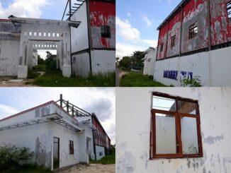 Kondisi Stadion Sangnawaluh di Kota Pematangsiantar