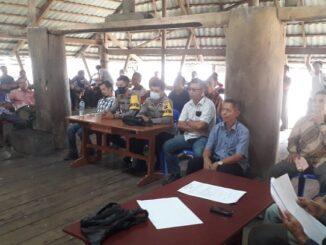 Pemilihan Anggota BPD desa Bawomataluo , di balai desa pada hari Jumat 23/04/2021