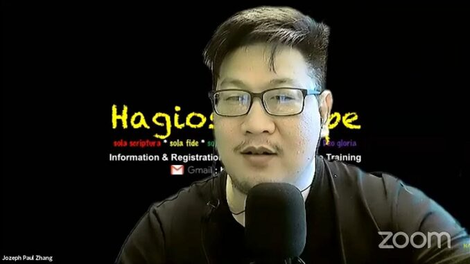 Pria bernama Jozeph Paul Zhang yang mengaku nabi ke- 26 berada di luar negeri.