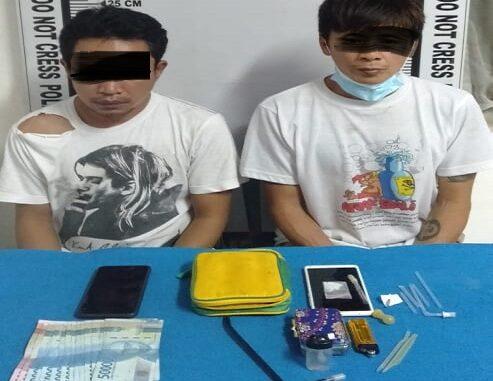Pemakai dan Penjual sabu ditangkap Polres Pematangsiantar, Selasa (11/05/2021)