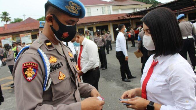 Subbid Propam Polda Sumut Gelar Ops Gaktibplin di Polres Pematangsiantar