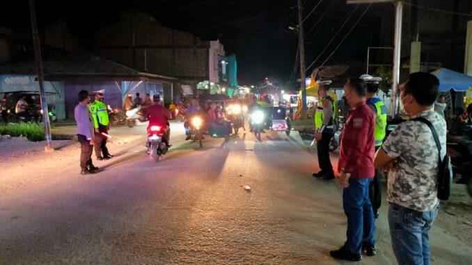 Polres Batu Bara Standby melaksanakan Patroli Malam, Kamis (13/5/2021),